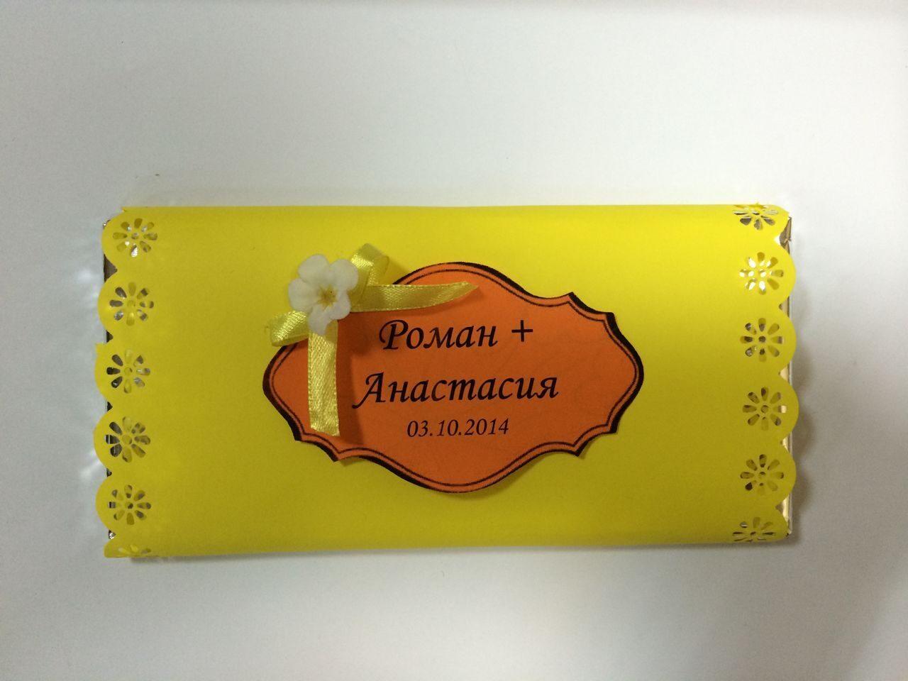 Шоколад для свадьбы фото